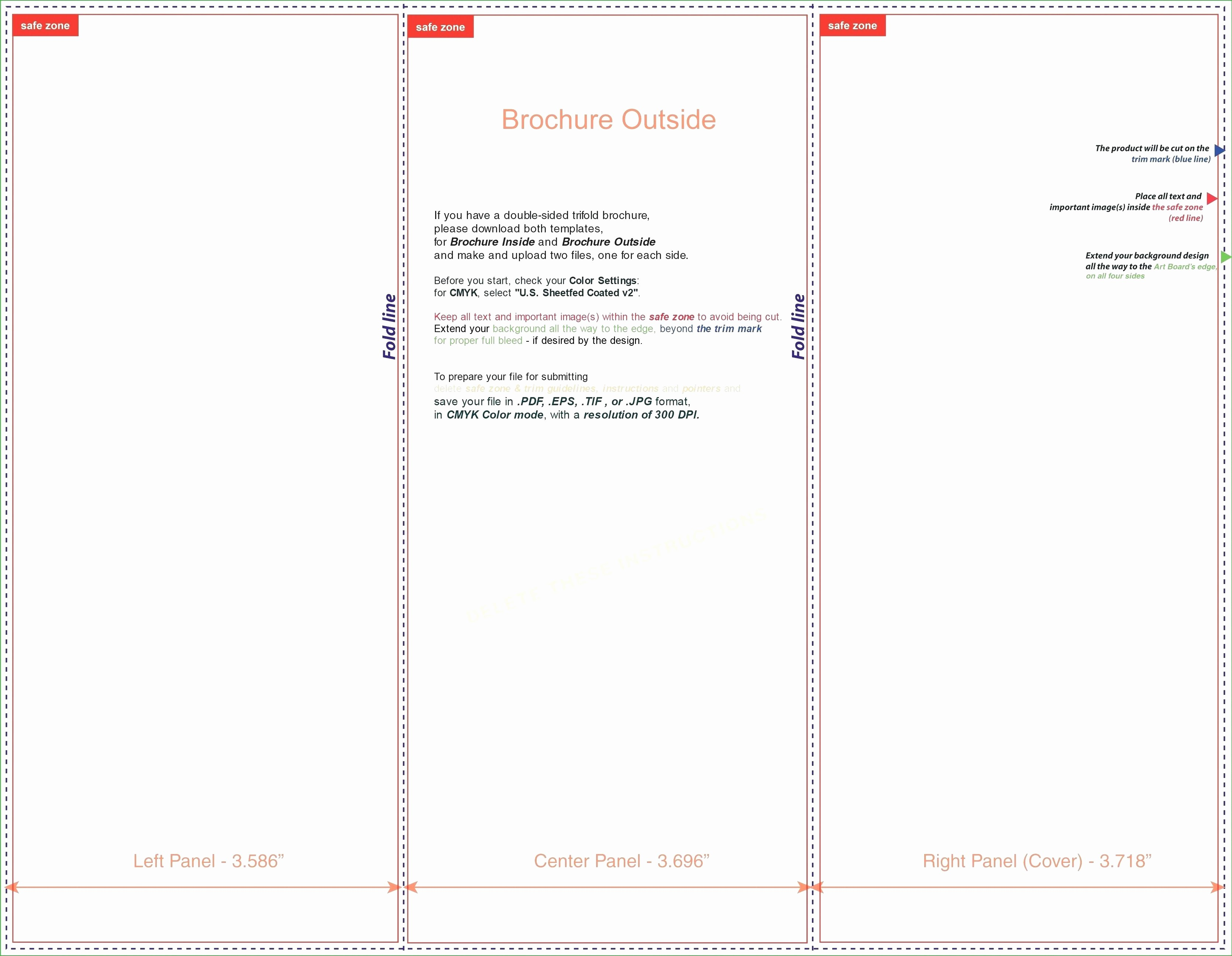 Microsoft Word Tri Fold Template Fresh Template Tri Fold Template Microsoft Word