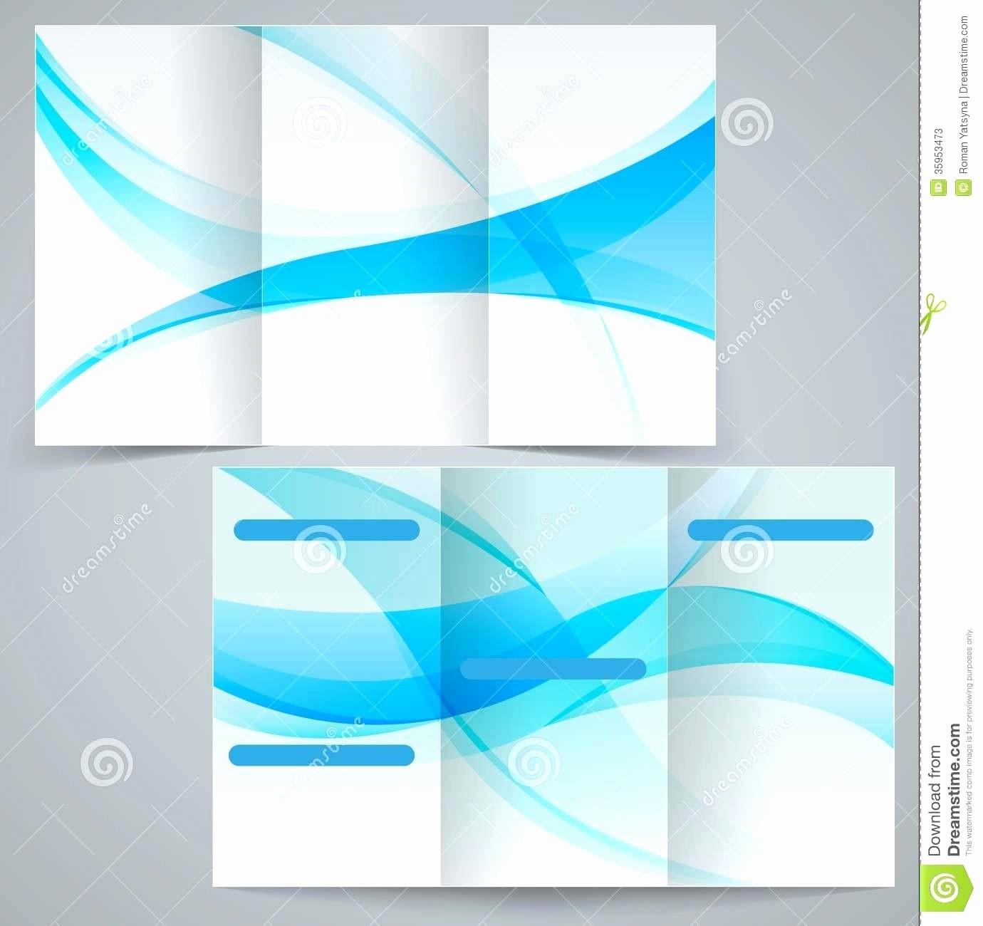 Microsoft Word Tri Fold Template Inspirational Template Brochure Template for Microsoft Word