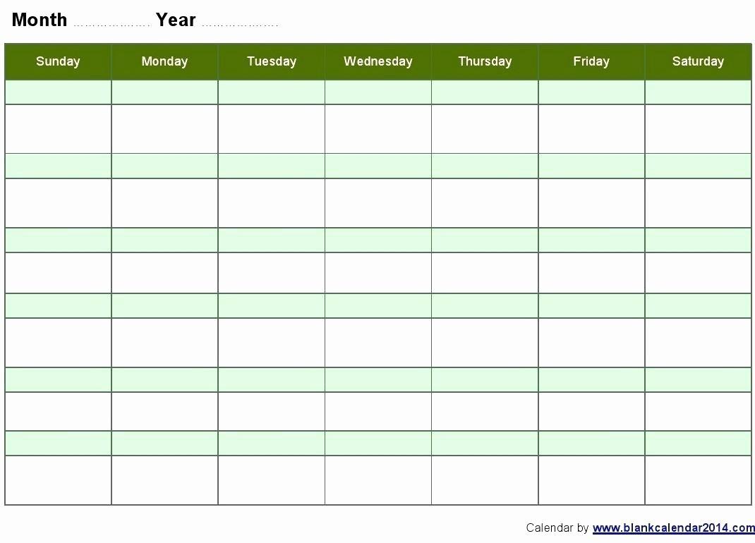 Microsoft Word Weekly Calendar Template New Template Microsoft Fice Monthly Calendar Template