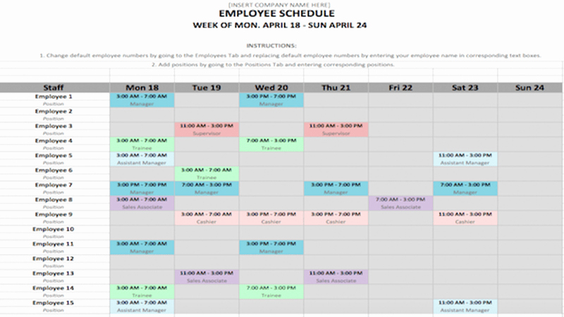 Microsoft Word Weekly Schedule Template Fresh Free Schedule Template