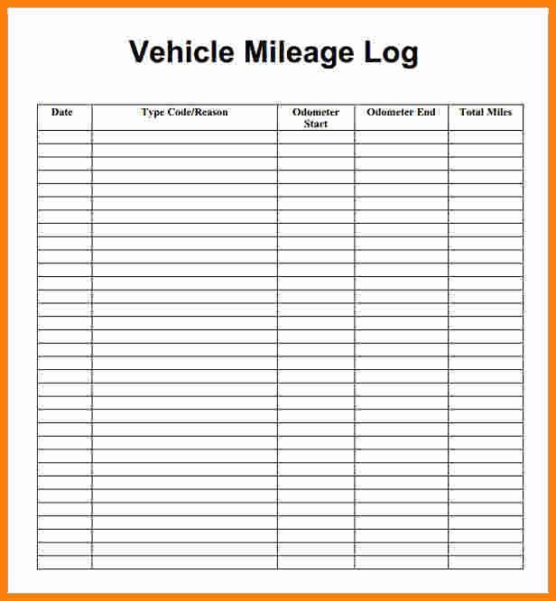 Mileage Expense form Template Free Lovely 13 Free Mileage Reimbursement form Template