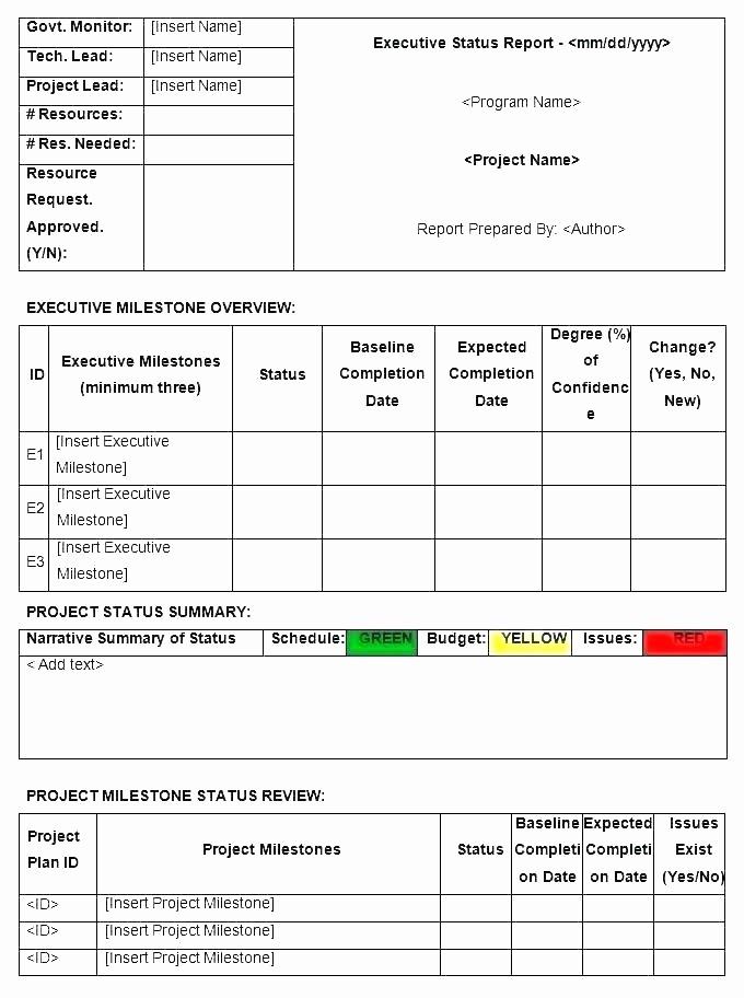 Milestone Chart In Project Management Unique Project Milestone Chart Template