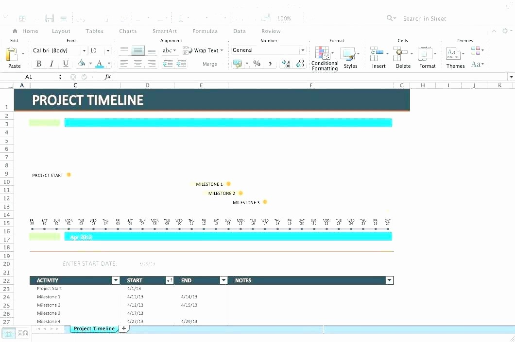 Milestone Plan Template In Excel Awesome Download Milestone Schedule Template Excel Project
