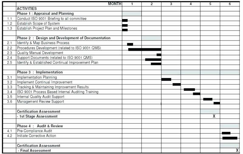 Milestone Plan Template In Excel Elegant Milestone Schedule Template Excel Chart In Timeline
