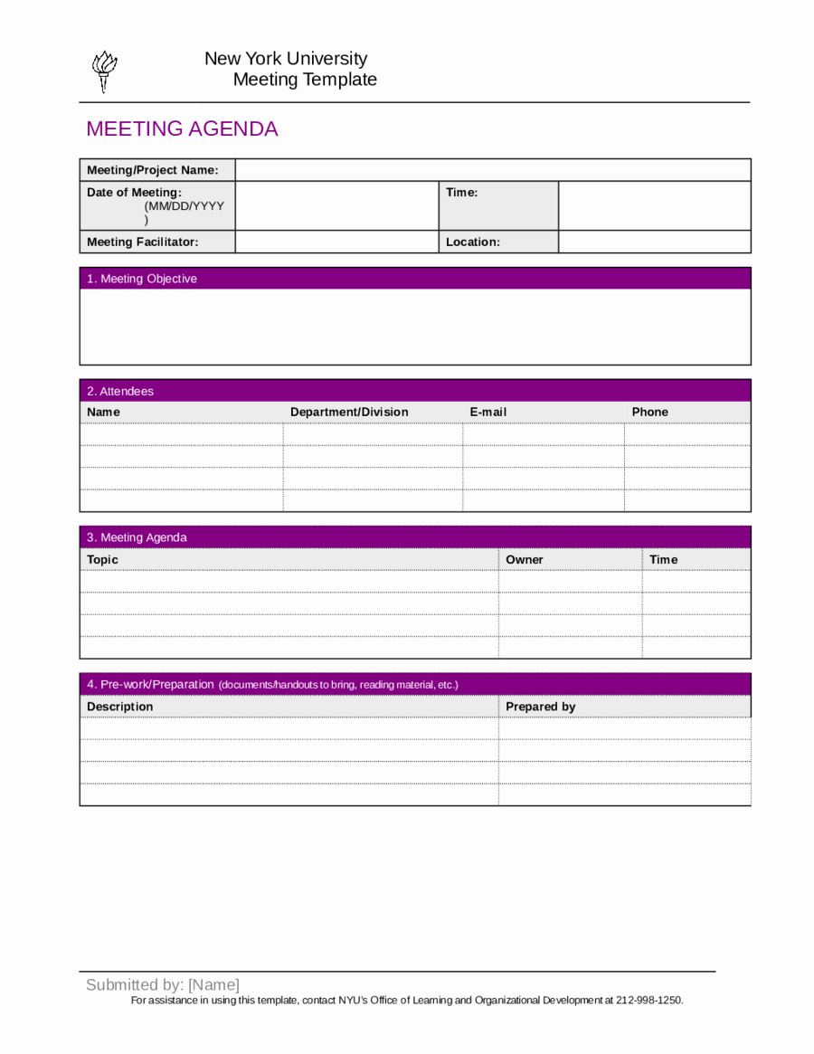 Minutes Of A Meeting Template New 2019 Meeting Minutes Template Fillable Printable Pdf