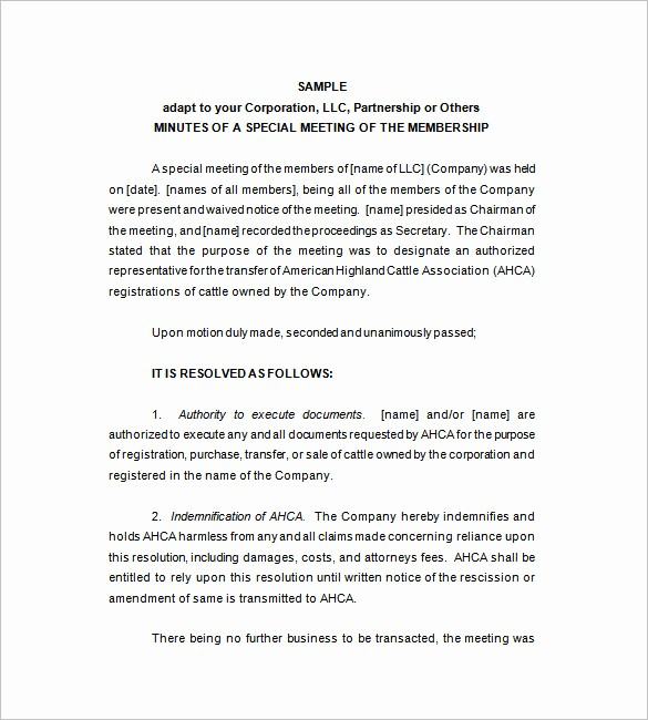 Minutes Of Meeting Corporate format Best Of Corporate Meeting Minutes Templates – 12 Free Sample
