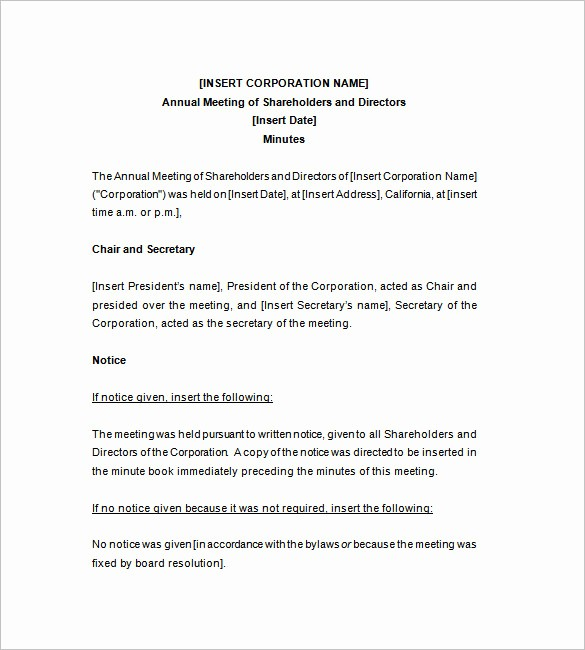 Minutes Of Meeting Corporate format Luxury Corporate Meeting Minutes Template – 9 Free Word Excel