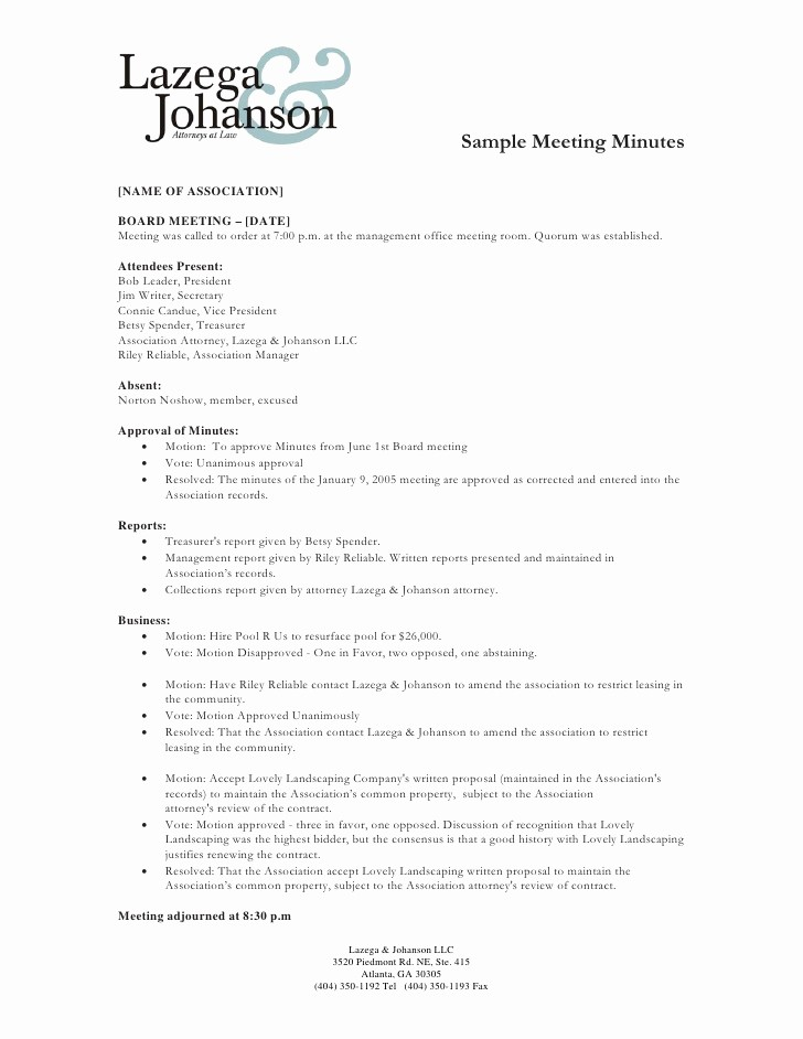 Minutes Of Meeting Report Sample Best Of Sample Of Minutes Of Meeting