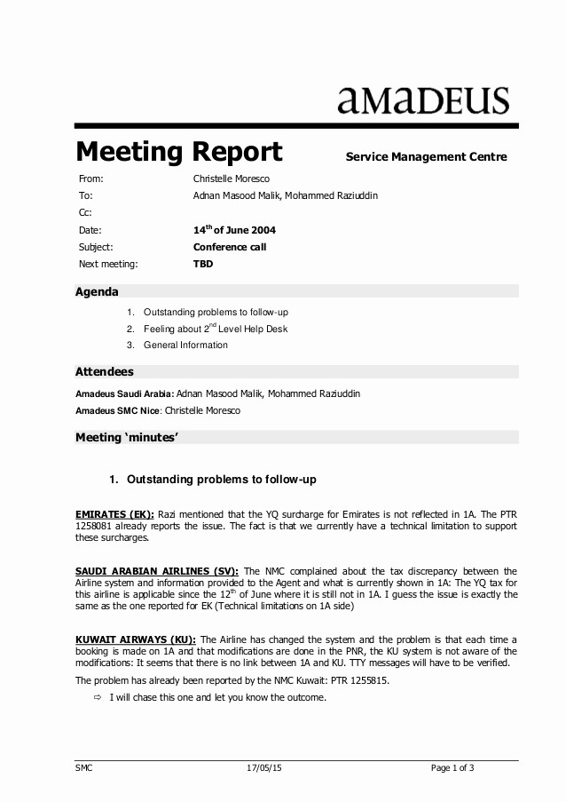 Minutes Of Meeting Report Sample Fresh Conference Call Minutes Nmc Saudi Arabia 14jun04