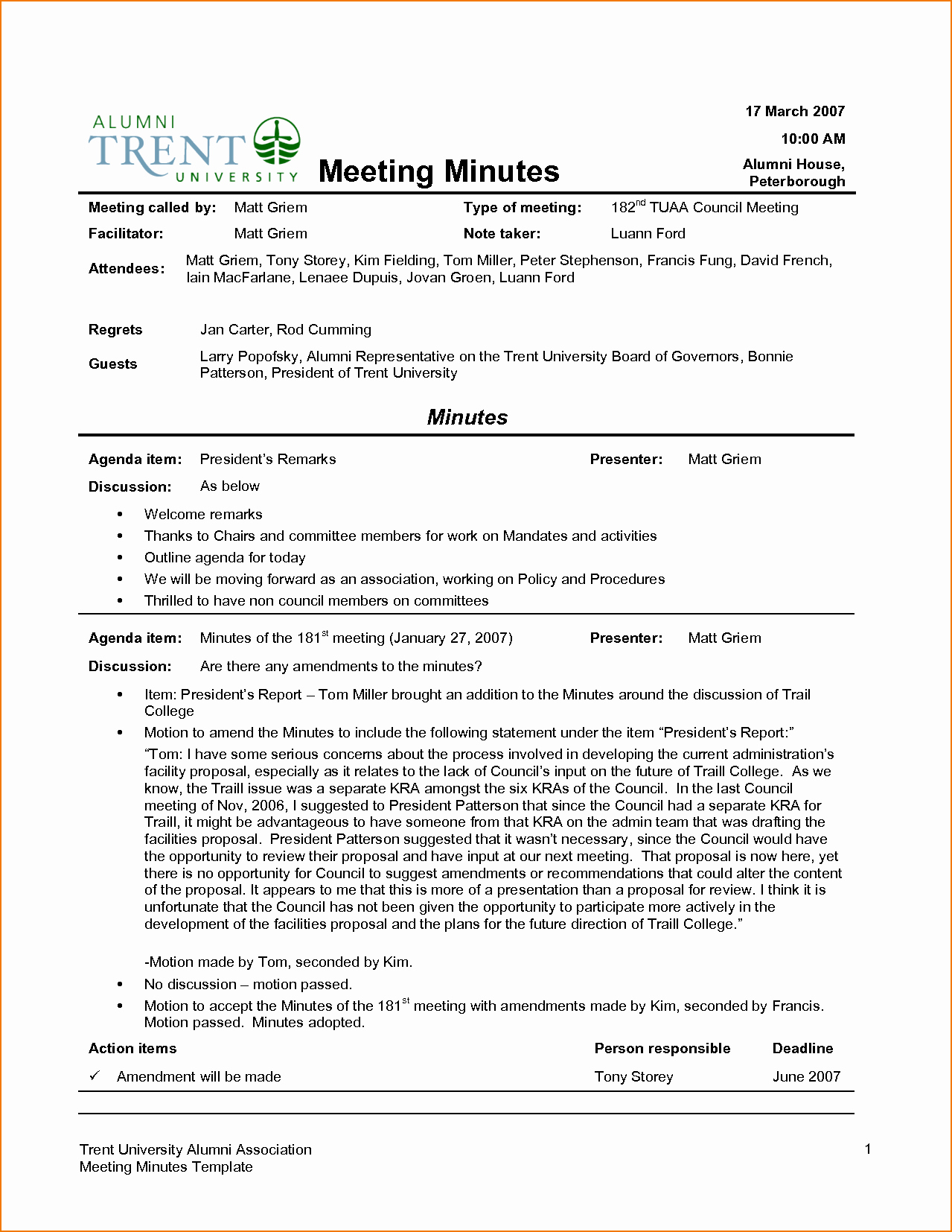 Minutes Of the Meeting Sample Fresh 4 Sample Meeting Minutes Template