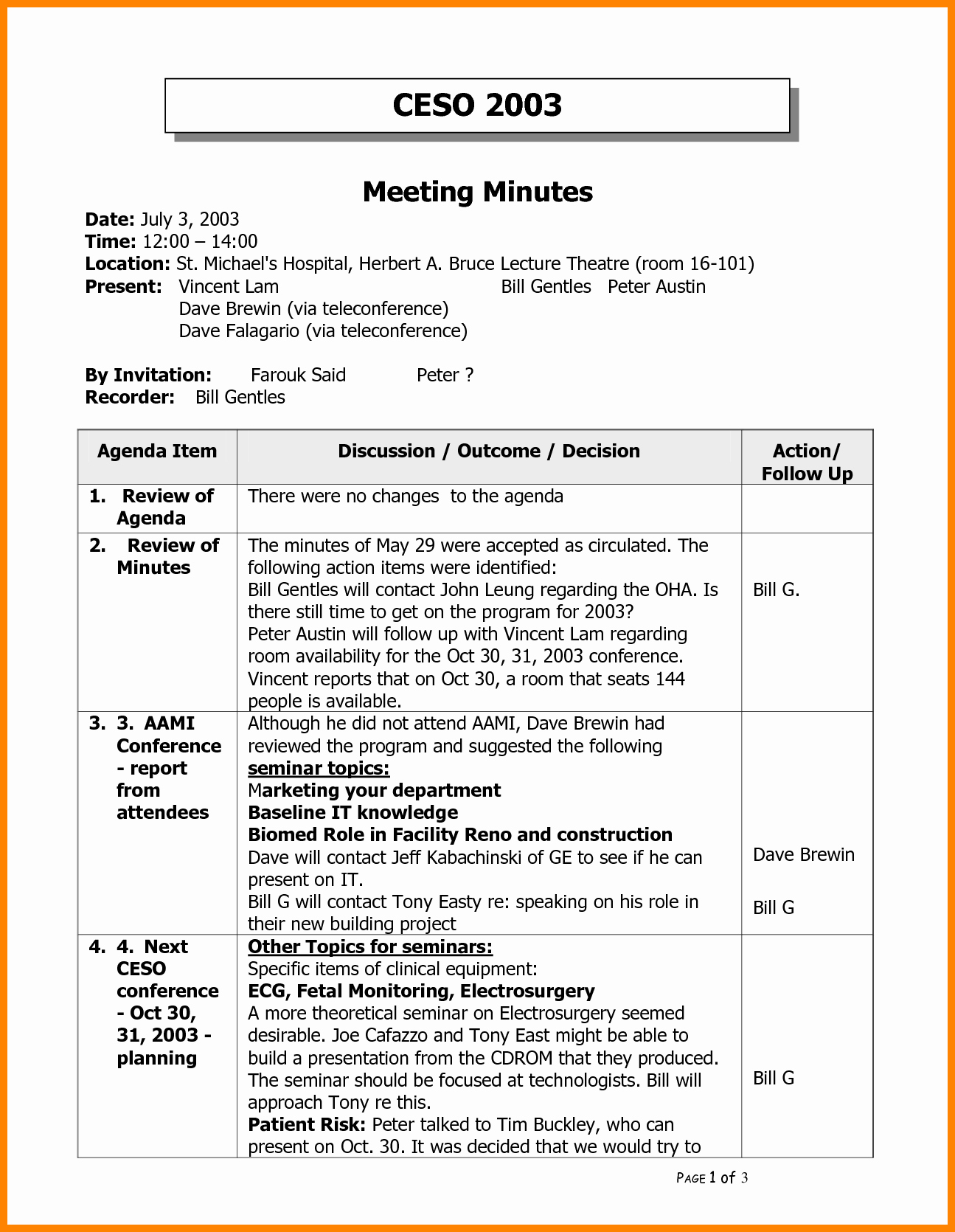 Minutes Of the Meeting Template Elegant Meeting Sample Meeting Minutes Template