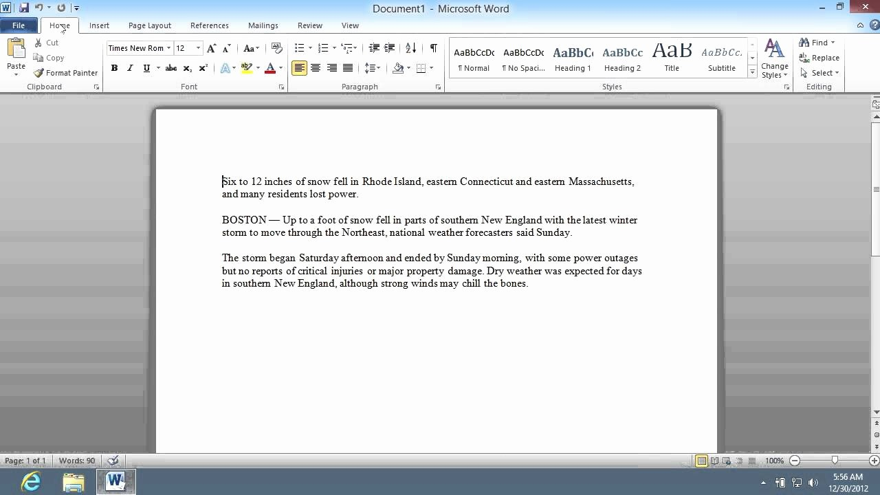 Mla format In Word 2010 Awesome How to Show Word Count In Microsoft Word 2010