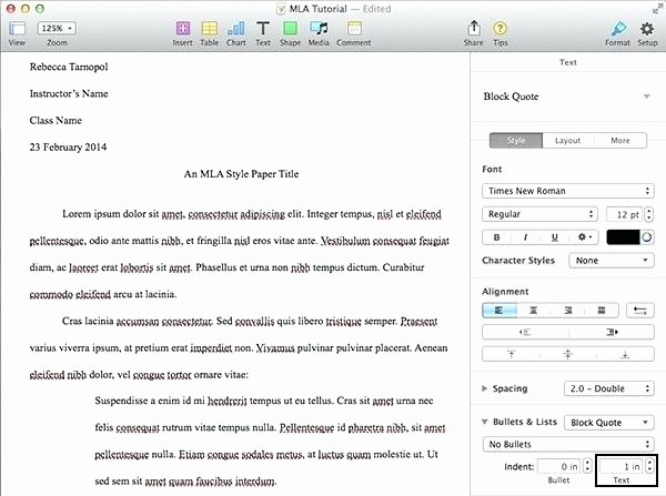 Mla format In Word 2010 Best Of Mla format Template Word 2010 I Ficial Research