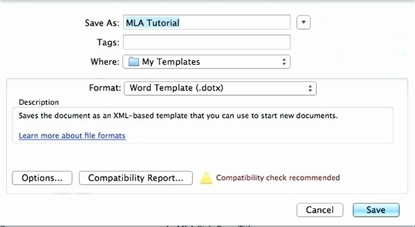 Mla format In Word 2010 Elegant Mla format Template Word 2010 I Ficial Research