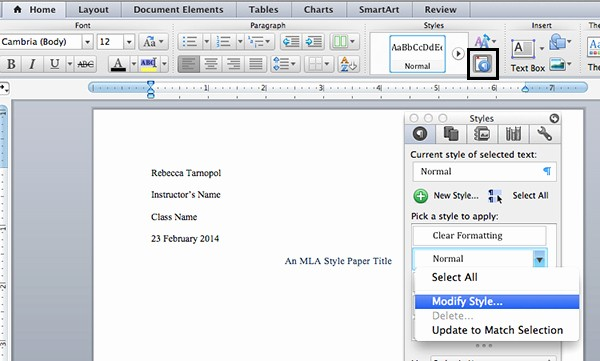 Mla format In Word 2010 Inspirational How to Write A Paper In Mla format On Microsoft Word