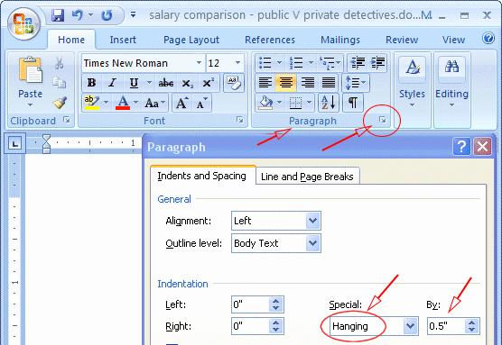 Mla format In Word 2010 New Mla format Microsoft Word 2010