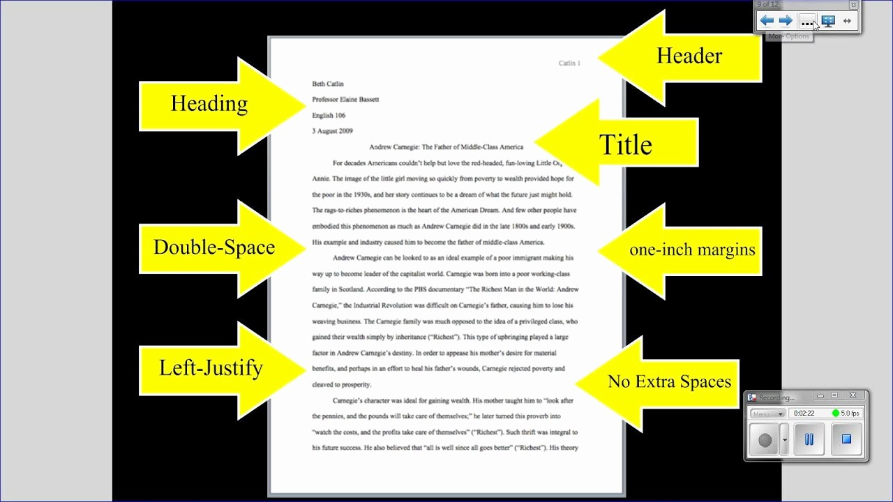 Mla format Of A Paper Awesome Mla Tutorial 1 Basic Paper formatting