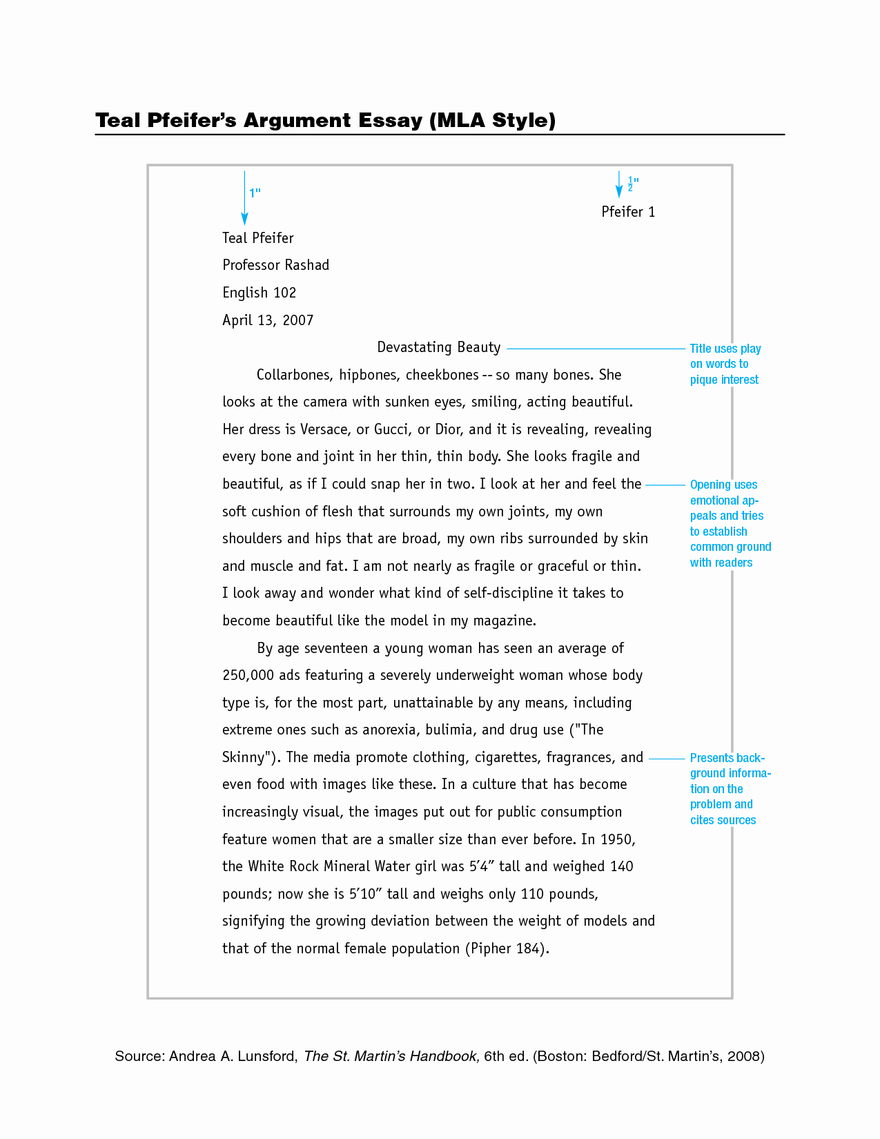Mla format Of A Paper Fresh Best S Of Standard Mla format Example Mla format