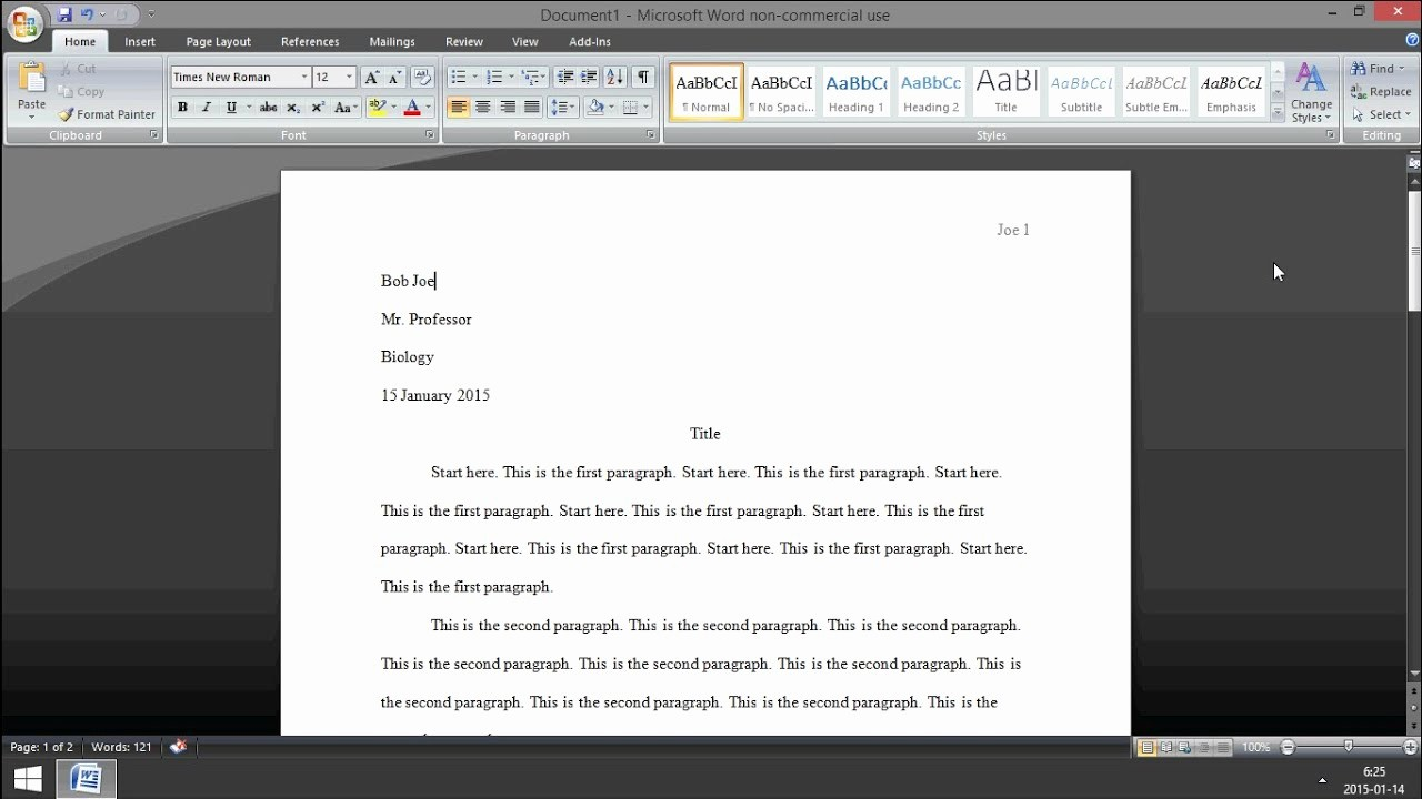 Mla format On Word 2016 Beautiful Microsoft Word How to Set Up Mla format 2015