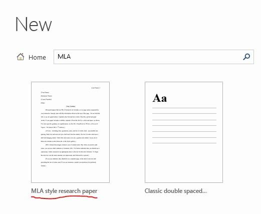 Mla format On Word 2016 Beautiful Mla Template Word formal Mla Beautiful Template Design Ideas