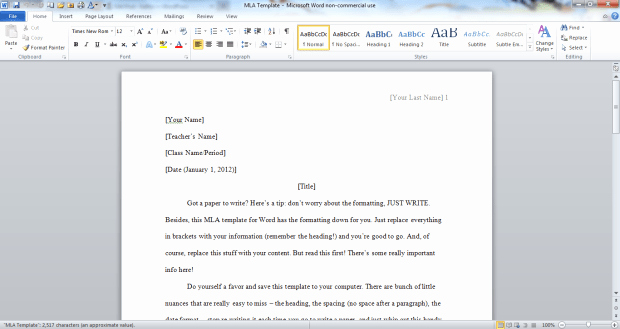 Mla format Open Office Template New Separation Of A Mixture Lab Report We Write Best Essay