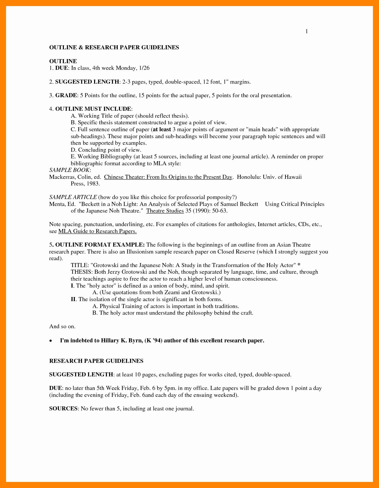 Mla format Research Paper Template Luxury Ideas Best S Proper Mla format Outline Mla