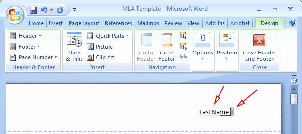 Mla format Word 2013 Template Luxury Mla format Microsoft Word 2013
