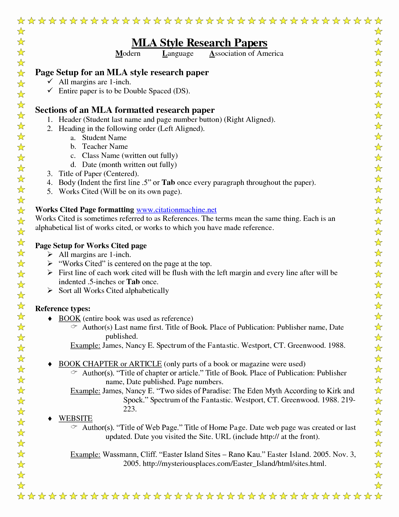 Mla formatted Research Paper Example Inspirational Research Papers – Guided Writing