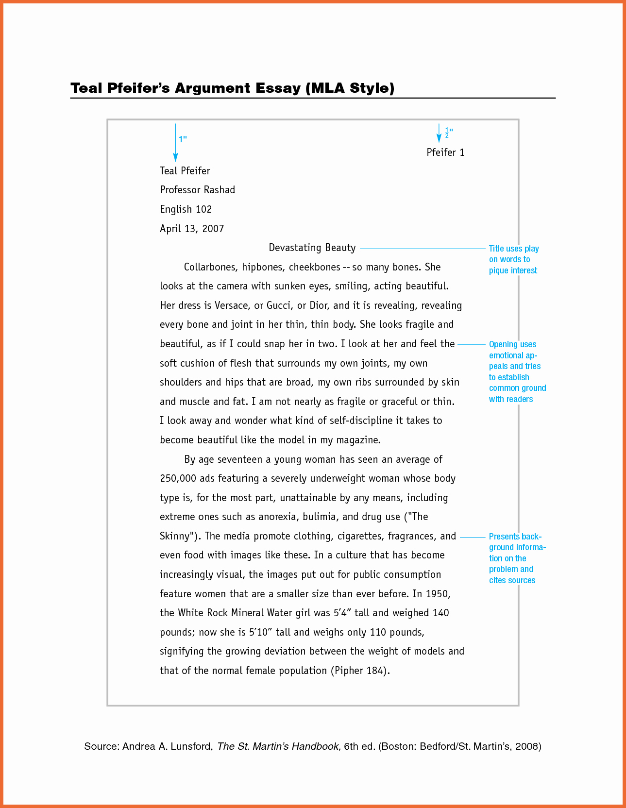 Mla formatted Research Paper Example Lovely Mla Essay format