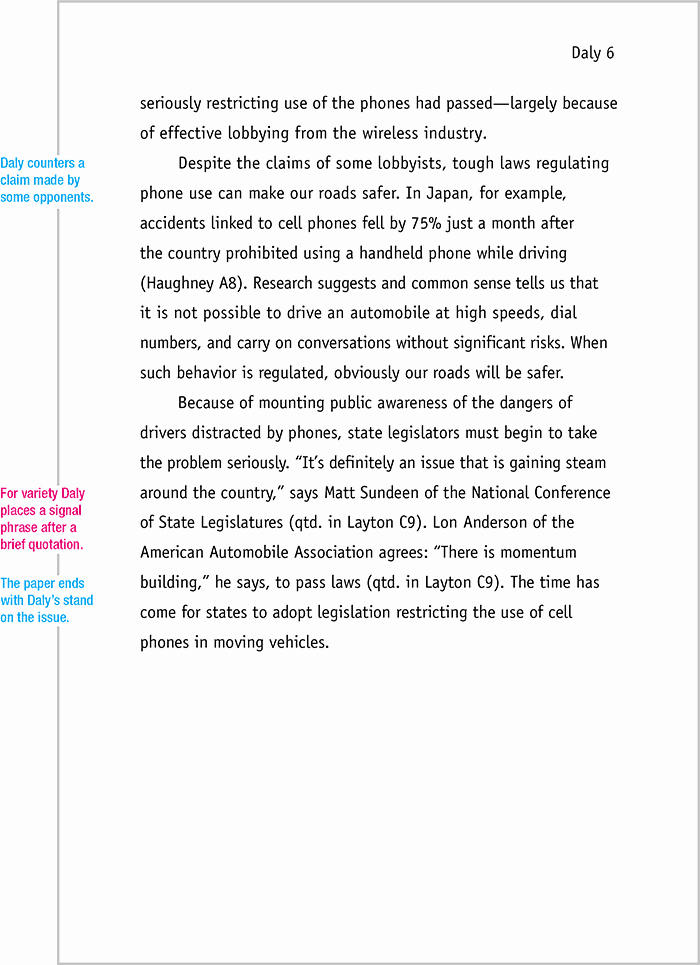 Mla formatted Research Paper Example New Mla format Sample Paper 7th Edition Mla format