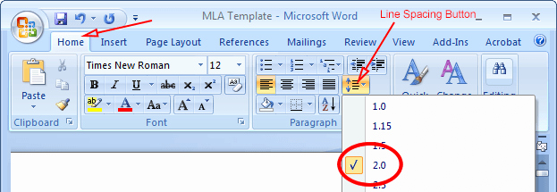 Mla formatting In Word 2010 Awesome Mla format Microsoft Word 2010 Mla format