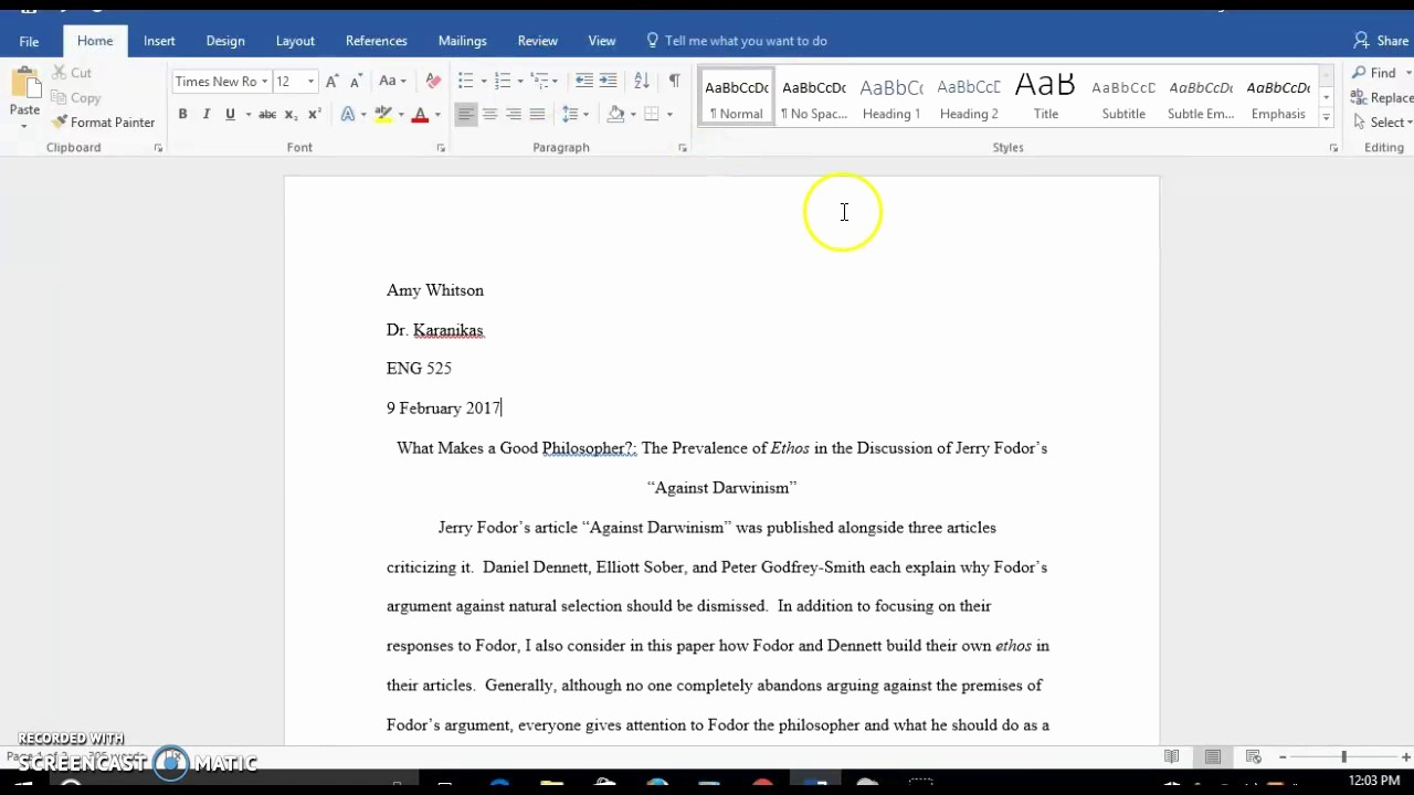 Mla formatting In Word 2010 Inspirational How to Set Up Margins and Spacing In Mla format In Word