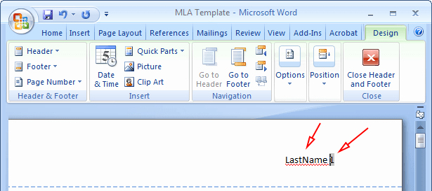 Mla formatting In Word 2010 Lovely Mla format Microsoft Word 2010 Mla format