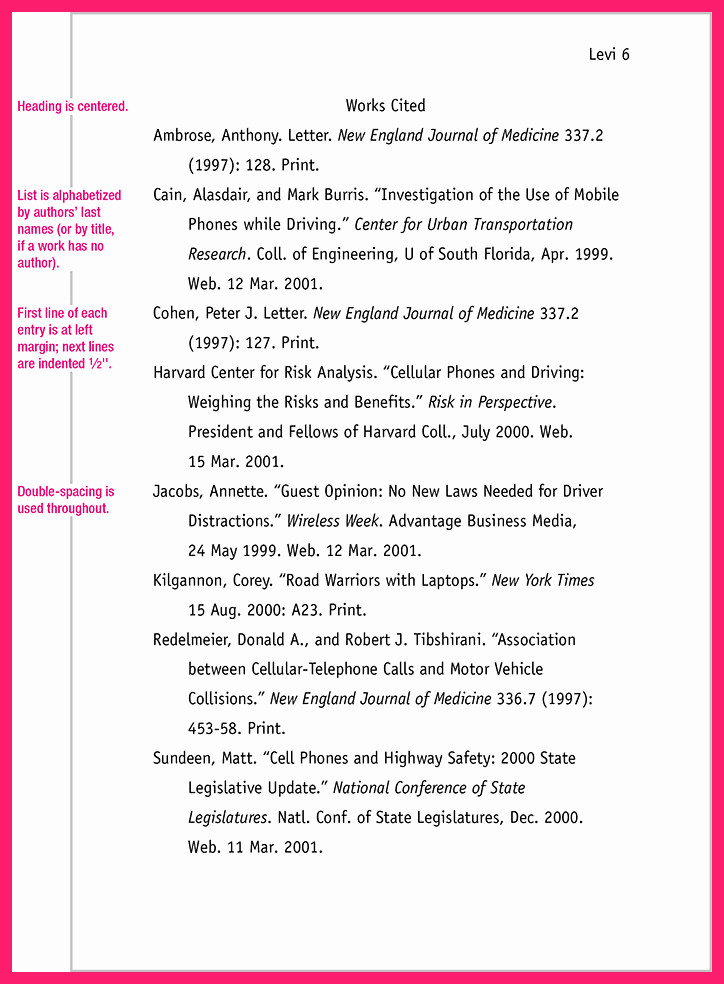Mla Style Research Paper format Fresh Mla format Research Paper