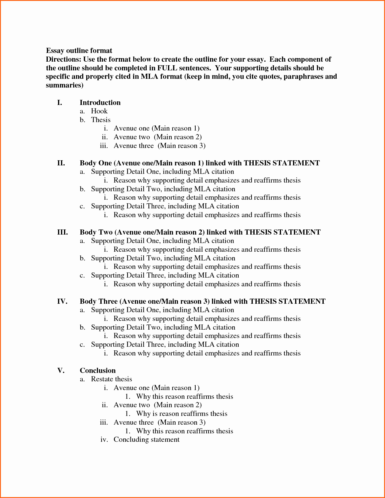 Mla Style Research Paper format Lovely 8 What is the Mla format for Essays Bud Template Letter