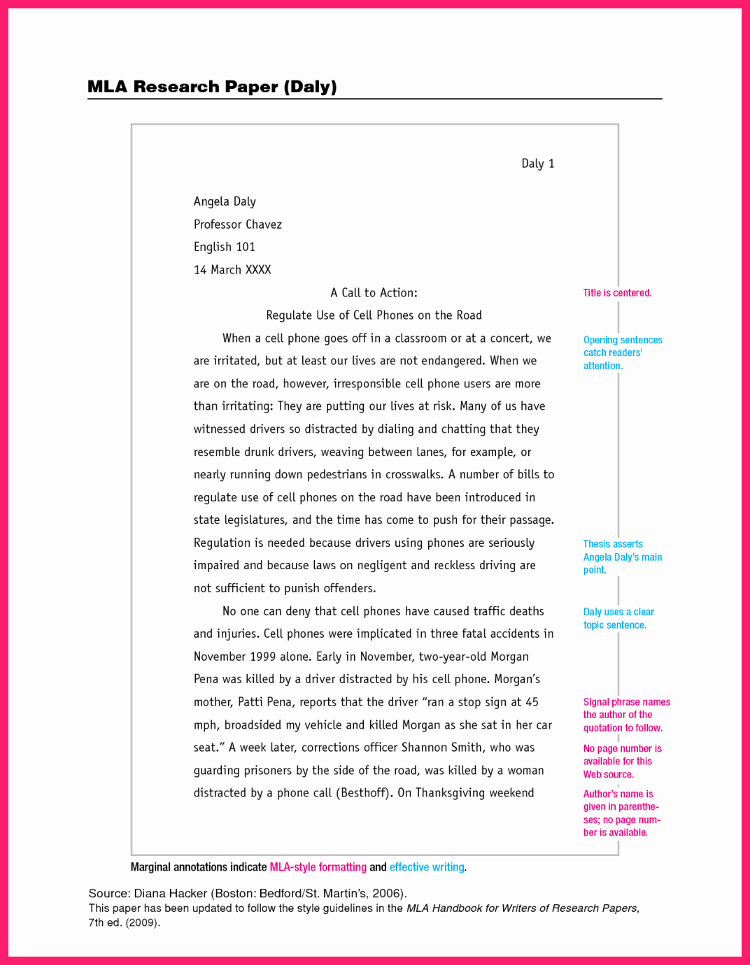 Mla Style Research Paper format Luxury Research Paper Mla format