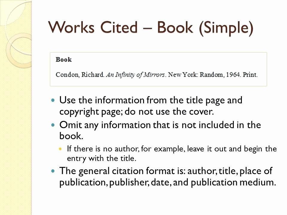 Mla Works Cited Page Template Elegant Mla format Work Cited Template – Voipersracing