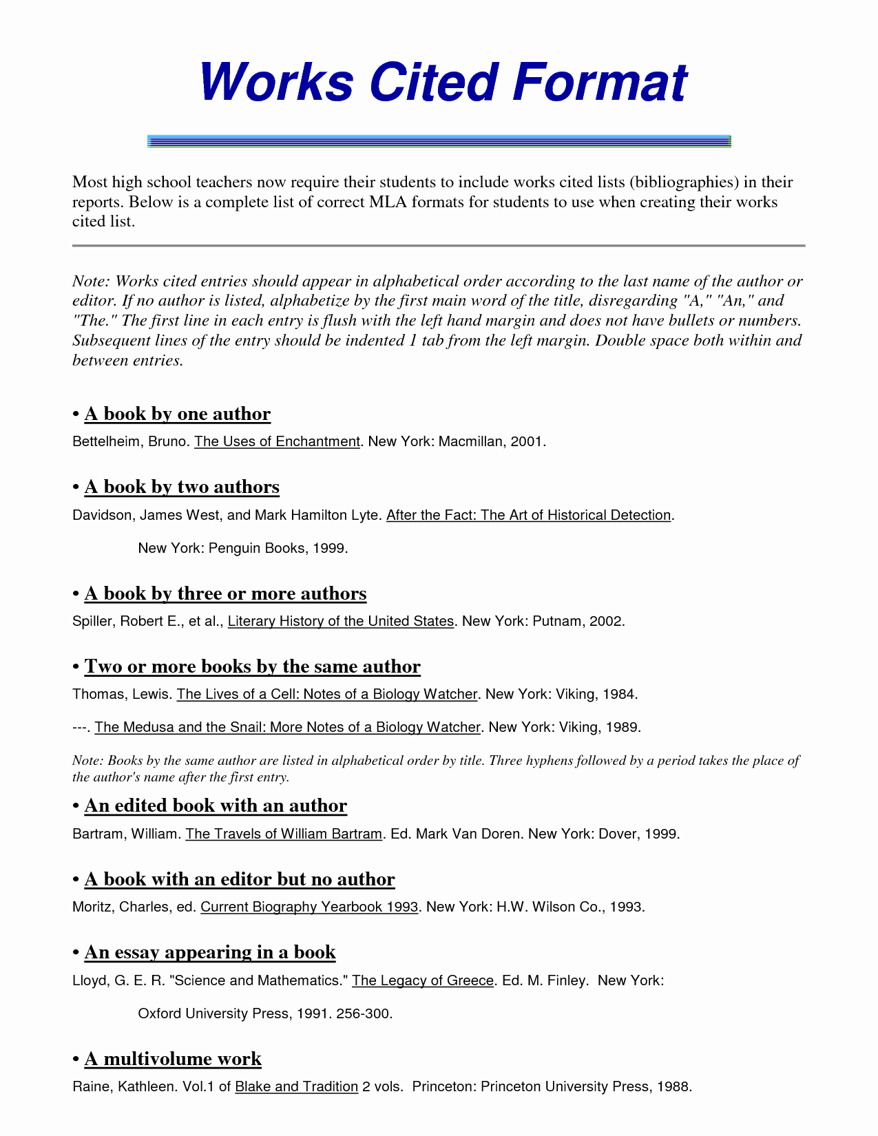 Mla Works Cited Page Template Fresh 46 Example Mla Essay with Works Cited Search Results