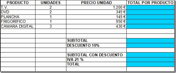 Modelo De Facturas En Excel Beautiful Word Y Excel Modelo De Factura Con Fórmulas Simples