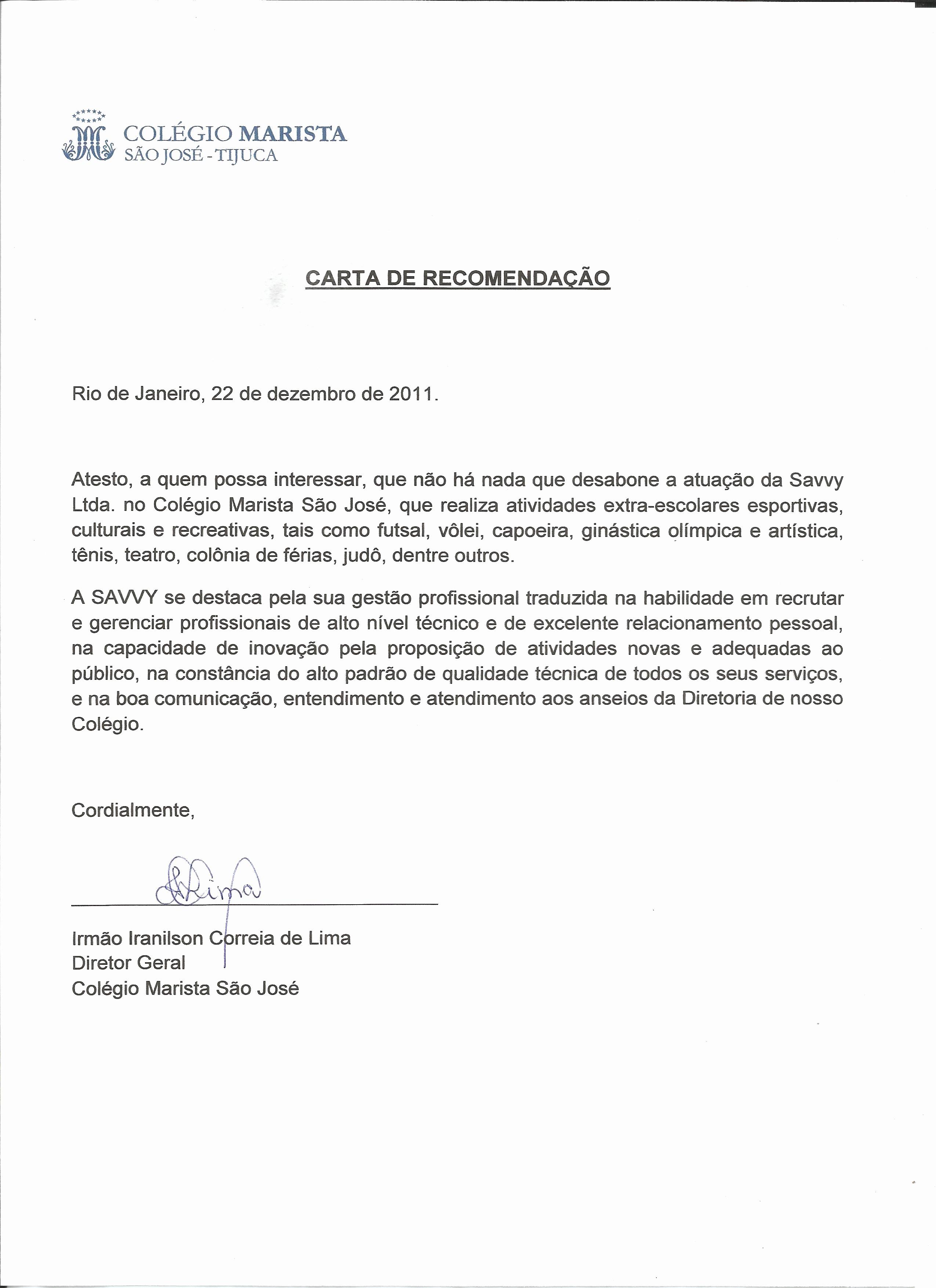 Modelos De Carta De Recomendacao Best Of Colônia De Férias Gecrear Rj Rio De Janeiro Festas E