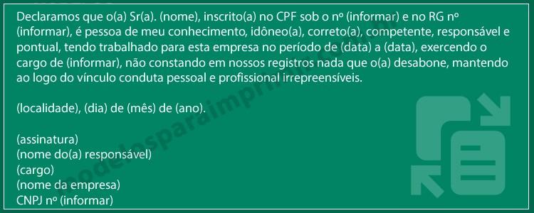 Modelos De Carta De Recomendacao Fresh Modelo De Carta De Re Endação Profissional Para Imprimir