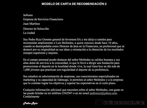 Modelos De Carta De Recomendacion New Imágenes De Modelo De Carta De Re Endación