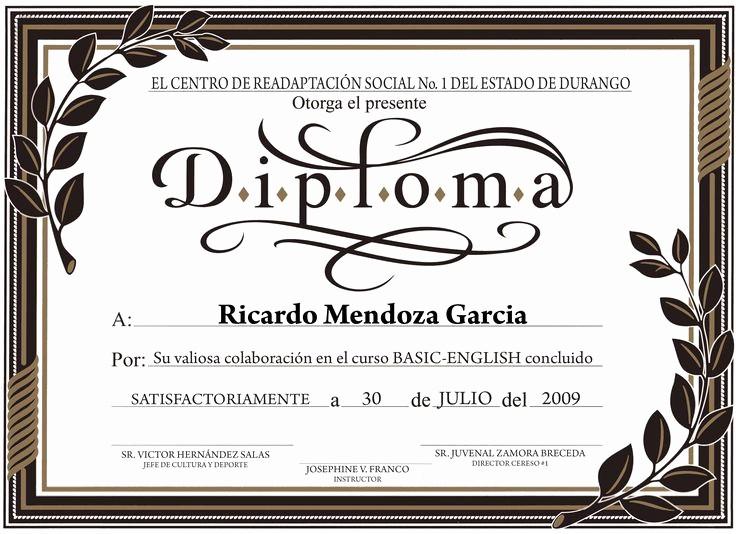 Modelos De Diplomas De Reconocimiento Awesome Diplomas Para Imprimir Con Diseños Infantiles Imagui