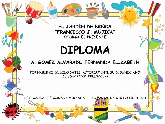 Modelos De Diplomas De Reconocimiento Awesome Modelos De Diplomas De Preescolar Para Editar Imagui