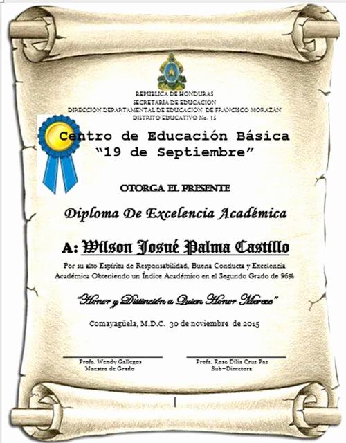 Modelos De Diplomas De Reconocimiento Beautiful Hondu Tareas Las Tareas De Honduras formatos Para