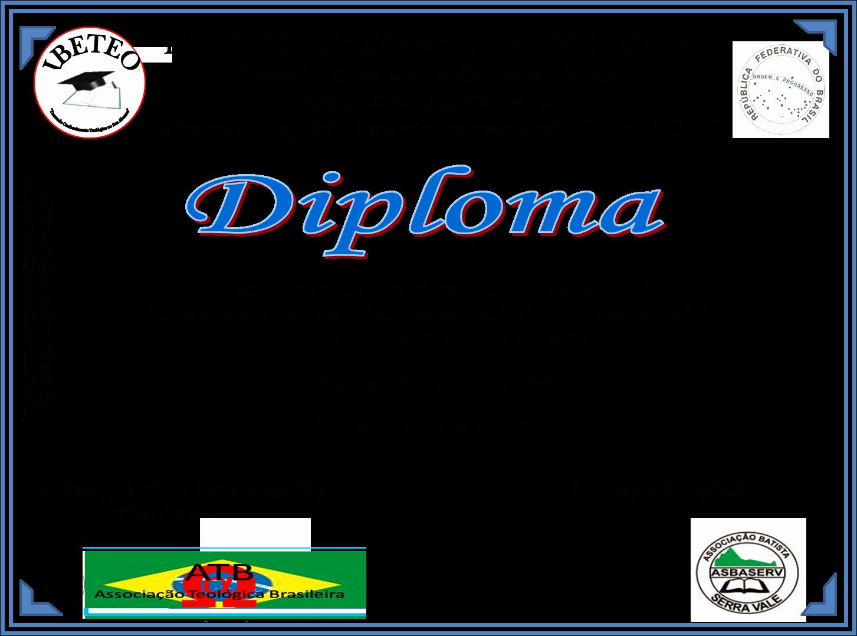 Modelos De Diplomas De Reconocimiento Best Of Ibeteo Instituto Bereano De Teologia Modelo De