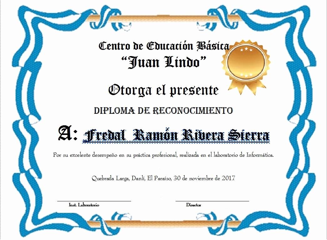 Modelos De Diplomas De Reconocimiento Fresh Diplomas Plantilla De Recargado Para Diploma Certificado