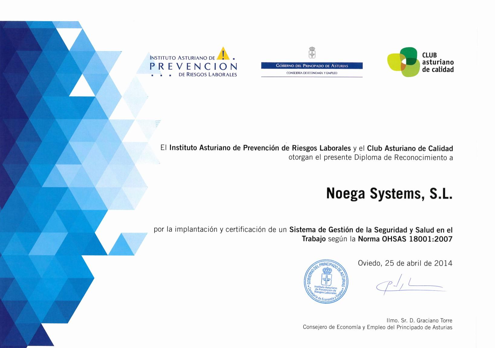 Modelos De Diplomas De Reconocimiento New Prevención Riesgos Laborales