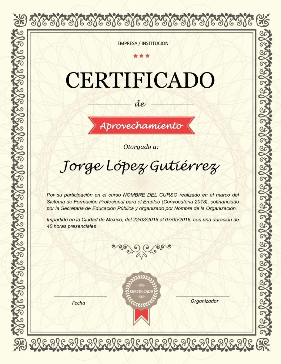 Modelos De Diplomas De Reconocimiento Unique Plantilla Reconocimiento Diploma Certificado Para Word