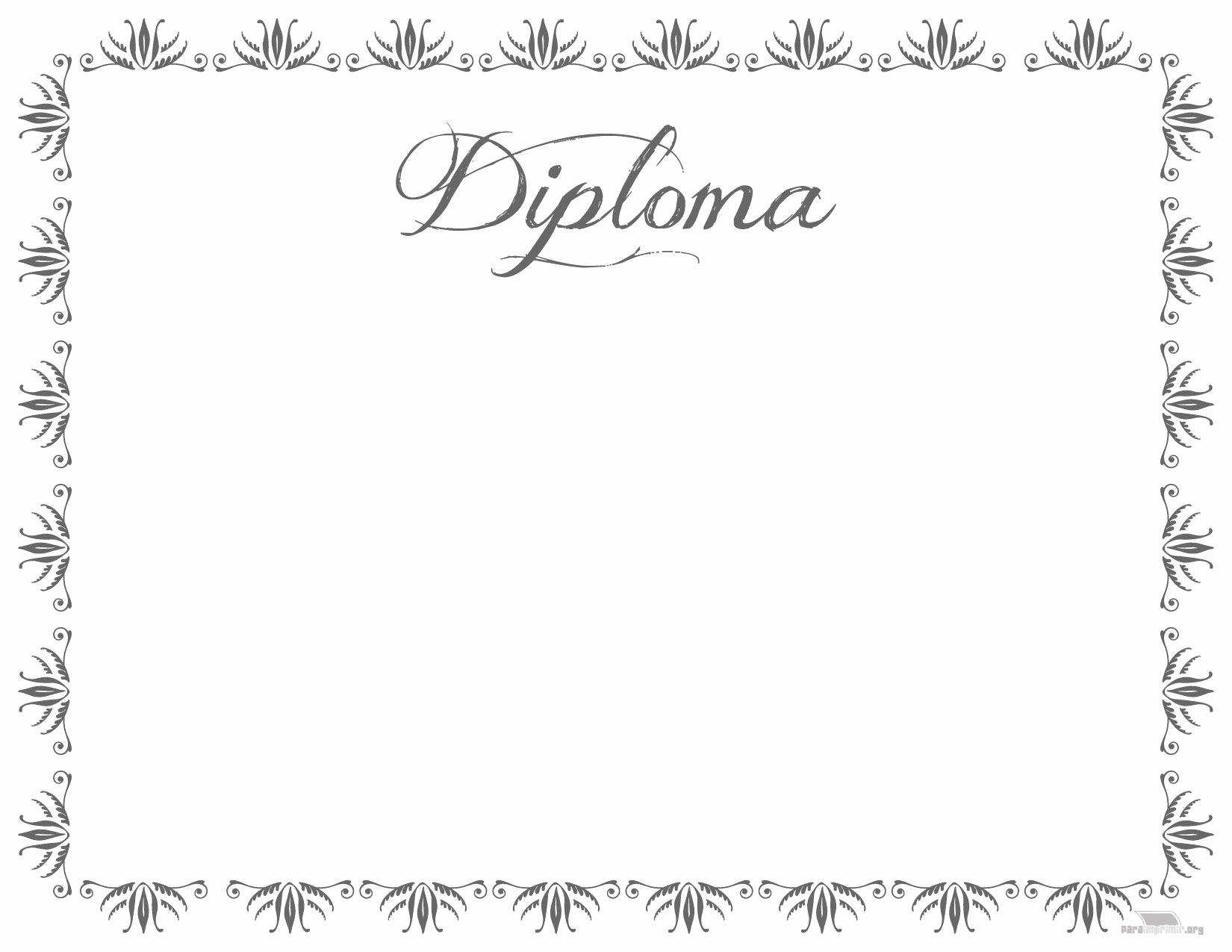 Modelos De Diplomas Para Editar Beautiful Diploma De Fin De Cursos Para Imprimir